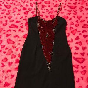 Dresses & Skirts - Sexy vintage spaghetti strap designer mini dress